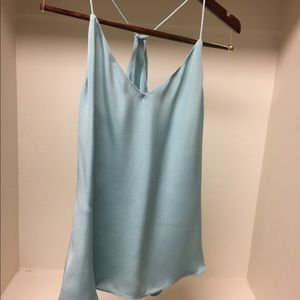 JCrew Light blue silk camisole